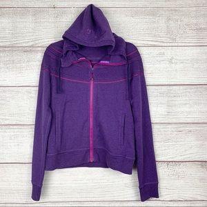 Lululemon Purple and Pink Zipper Hoodie